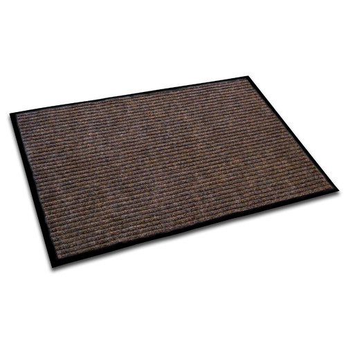 Ecotex Recycled Anti-Slip 36 x 48 Entrance Mat in Brown