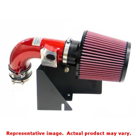 K&N Intake Kit - Typhoon System Short Ram 69-3511TR Red Fits:FORD 2002 - 2004 F