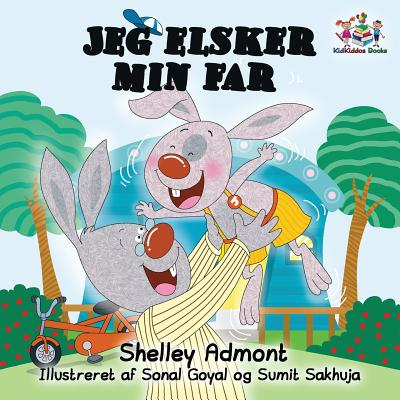 Danish Bedtime Collection: I Love My Dad: Danish Edition (Paperback)
