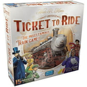 Ticket to Ride: 15th Anniversary Edition Strategy Board Game