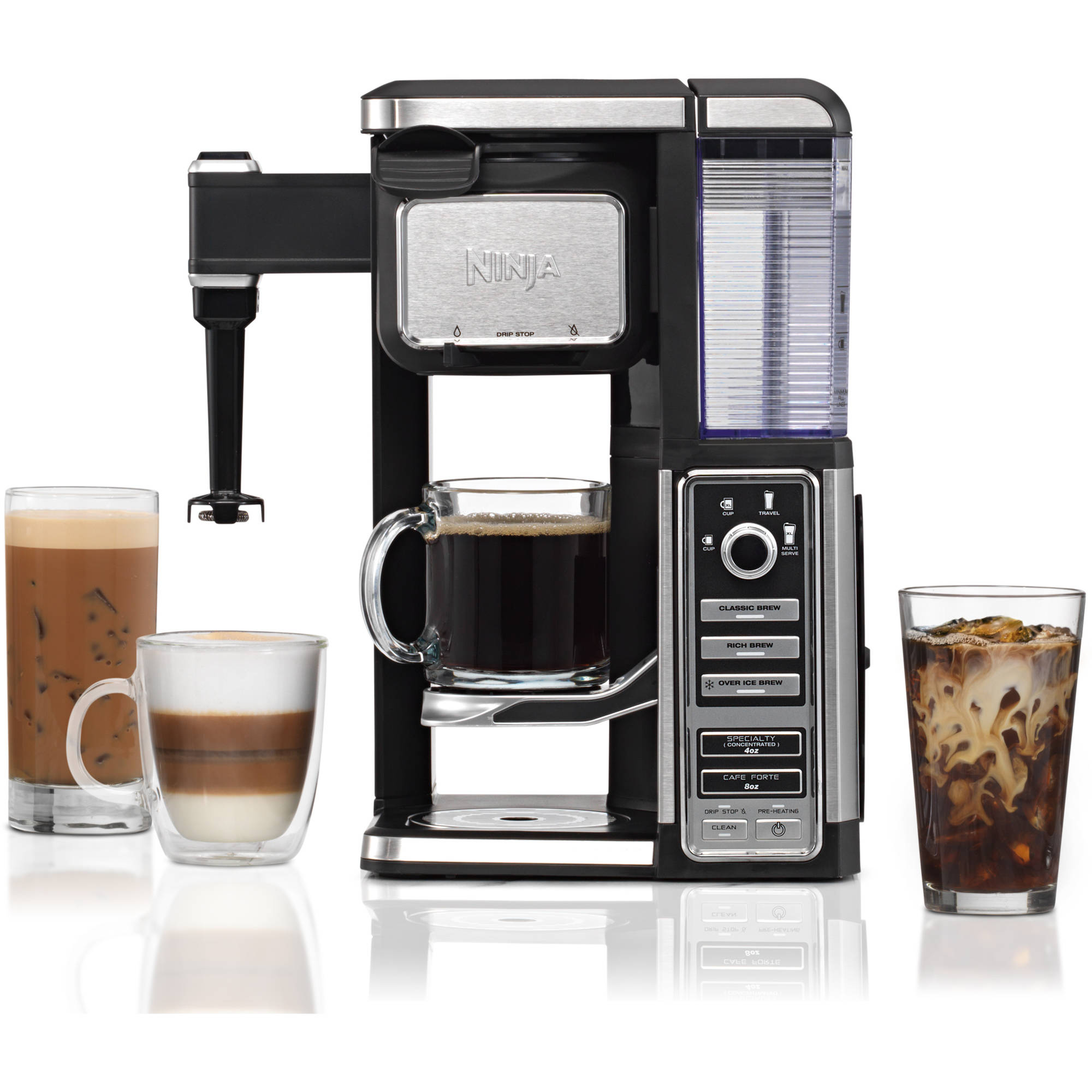 Ninja Coffee Bar Single Serve System with Auto IQ - 5 Brew Typs (CF110)