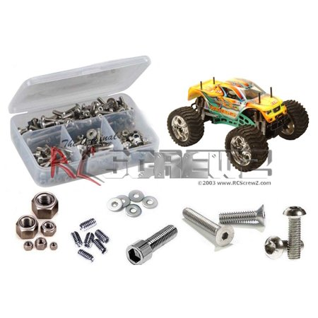 Cen Racing Differential - RC Screwz Stainless Steel Screw Kit for CEN Racing Genesis 7.7 GST #cen006