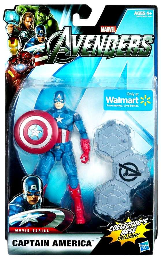 """Marvel Legends Avengers Captain America Exclusive 6"""" Action Figure by Hasbro"""