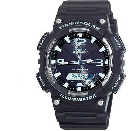 Casio Mens Solar Sport Combination Watch  Black
