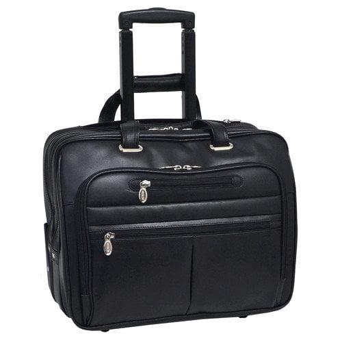 "McKlein USA Wrightwood Wheeled 17"" Laptop Case"