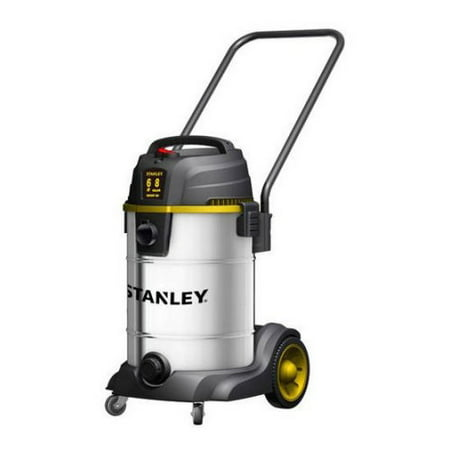 Stanley, SL18402-8B, 6.0 Peak HP 8 Gallon Stainless Steel Wet Dry Vac Tool Caddie and Blower Port