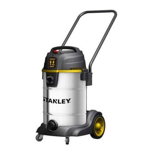 Stanley, SL18402-8B, 6.0 Peak HP 8 Gallon Stainless Steel Wet Dry Vac Tool Caddie and Blower Port