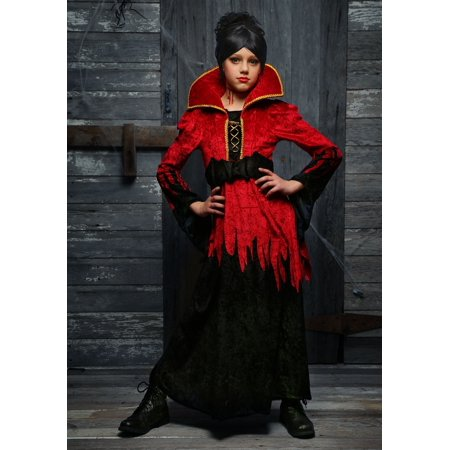 Girls Bloodthirsty Vampire Costume - Vampire Costume Girl