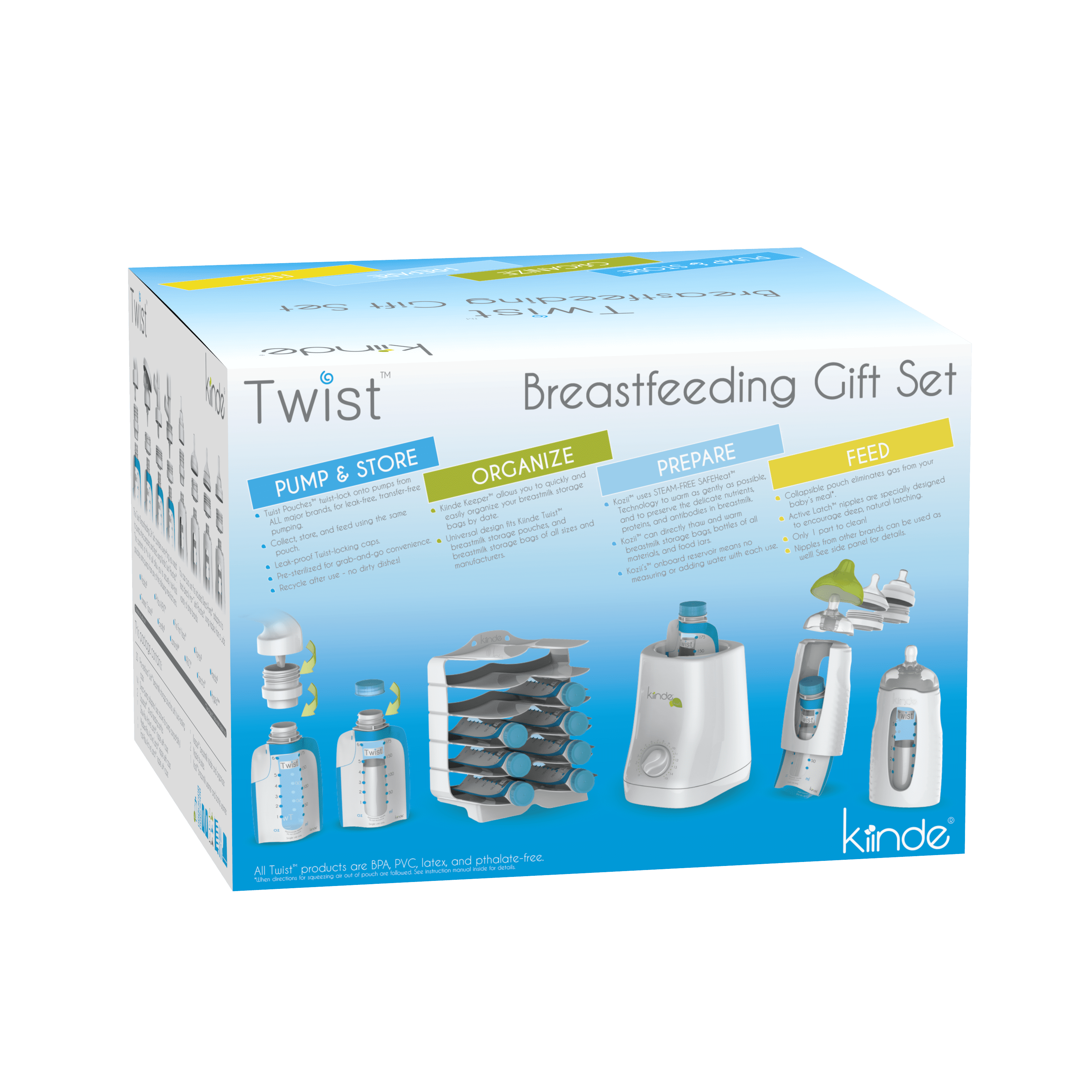 Kiinde Babies R Us Breastfeeding Gift Set Twist  Kinde Opened only for picture