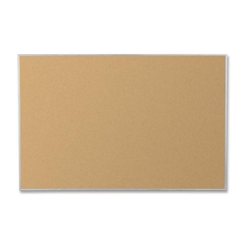 Corkboard, 4'x3', Aluminum Frame BLTE3019C