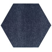 Saturn Collection Solid Color Cranberry 9' Hexagon - Area Rug