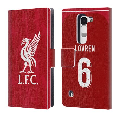 1a5e3120620 OFFICIAL LIVERPOOL FOOTBALL CLUB 2018 19 PLAYERS HOME KIT 1 LEATHER BOOK  WALLET CASE COVER FOR LG PHONES 2 - Walmart.com