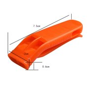 Everpert Outdoor Camping Whistle Emergency Sports Survival Whistle with Clip (10pcs)