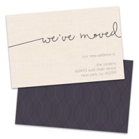 Personalized We've Moved Moving Announcement