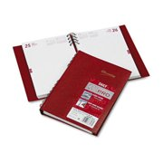 Rediform CB389CRED CoilPRO Daily Planner, Ruled 1 Day/Page, 5-3/4 x 8-1/4, Red, 2016