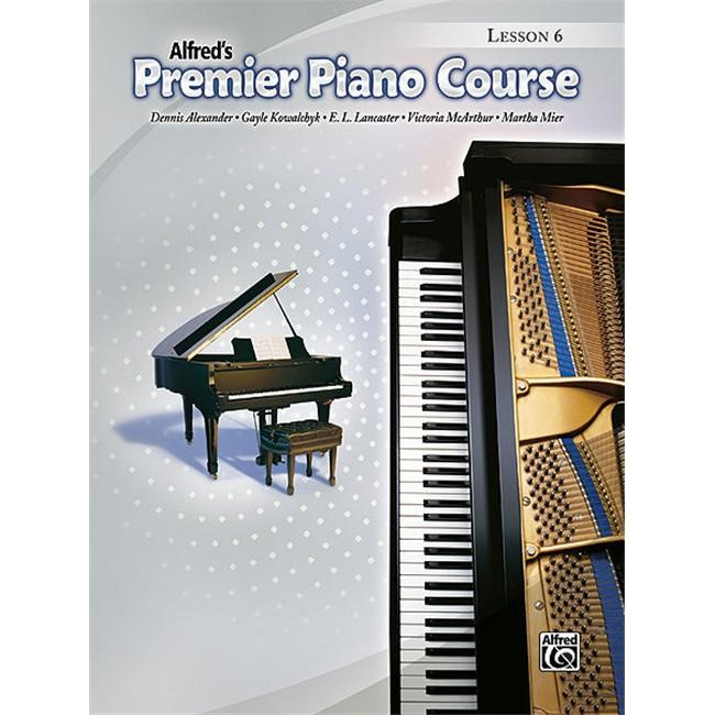 Alfred 00-33919 Premier Piano Course- Lesson Book 6 - Music Book