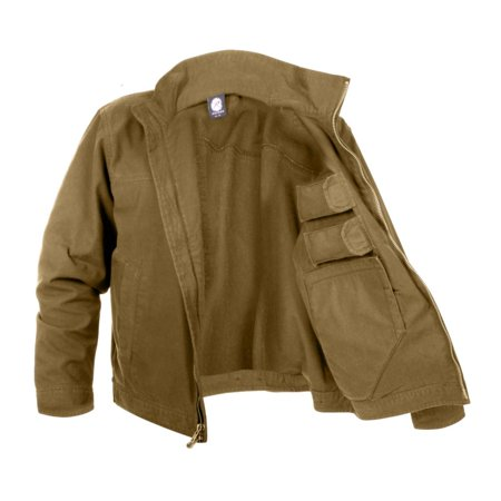 Rothco Rothco Lightweight Concealed Carry Tactical Jacket Black
