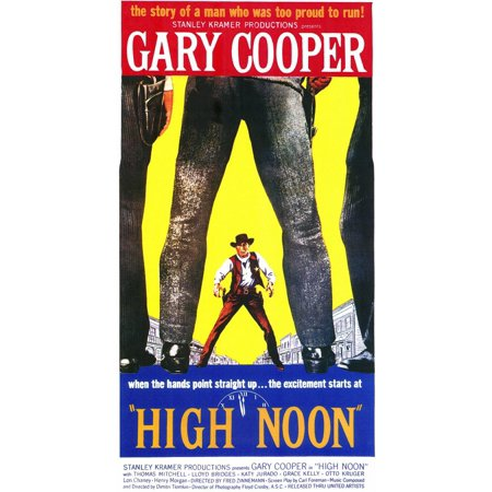 High Noon (1952) 11x17 Movie Poster (1952 Movie Poster)
