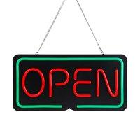 TORCHSTAR Neon Sign, LED OPEN Light Sign, OPEN Sign for Bar, Restaurant, Store, Gas Station, Door, 2000lm