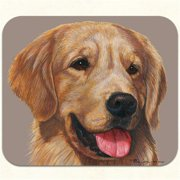Fiddlers Elbow m404 Golden Retriever Mouse Pad, Pack Of 2