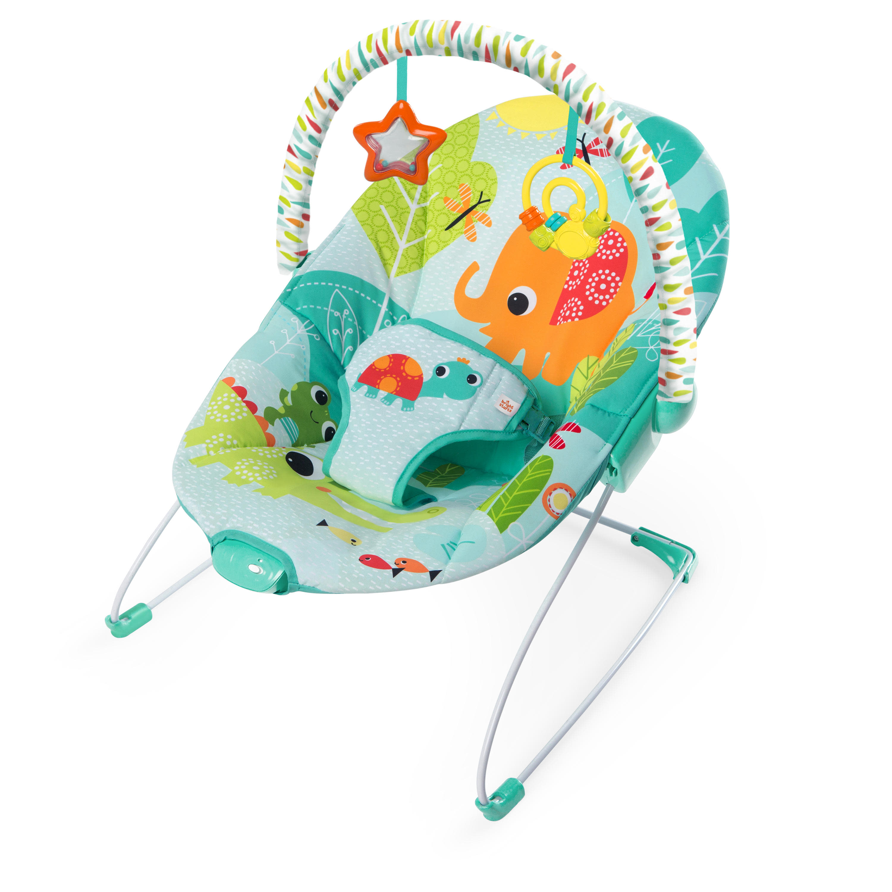 Bright Starts Bouncer Seat - Raindrop Rainforest