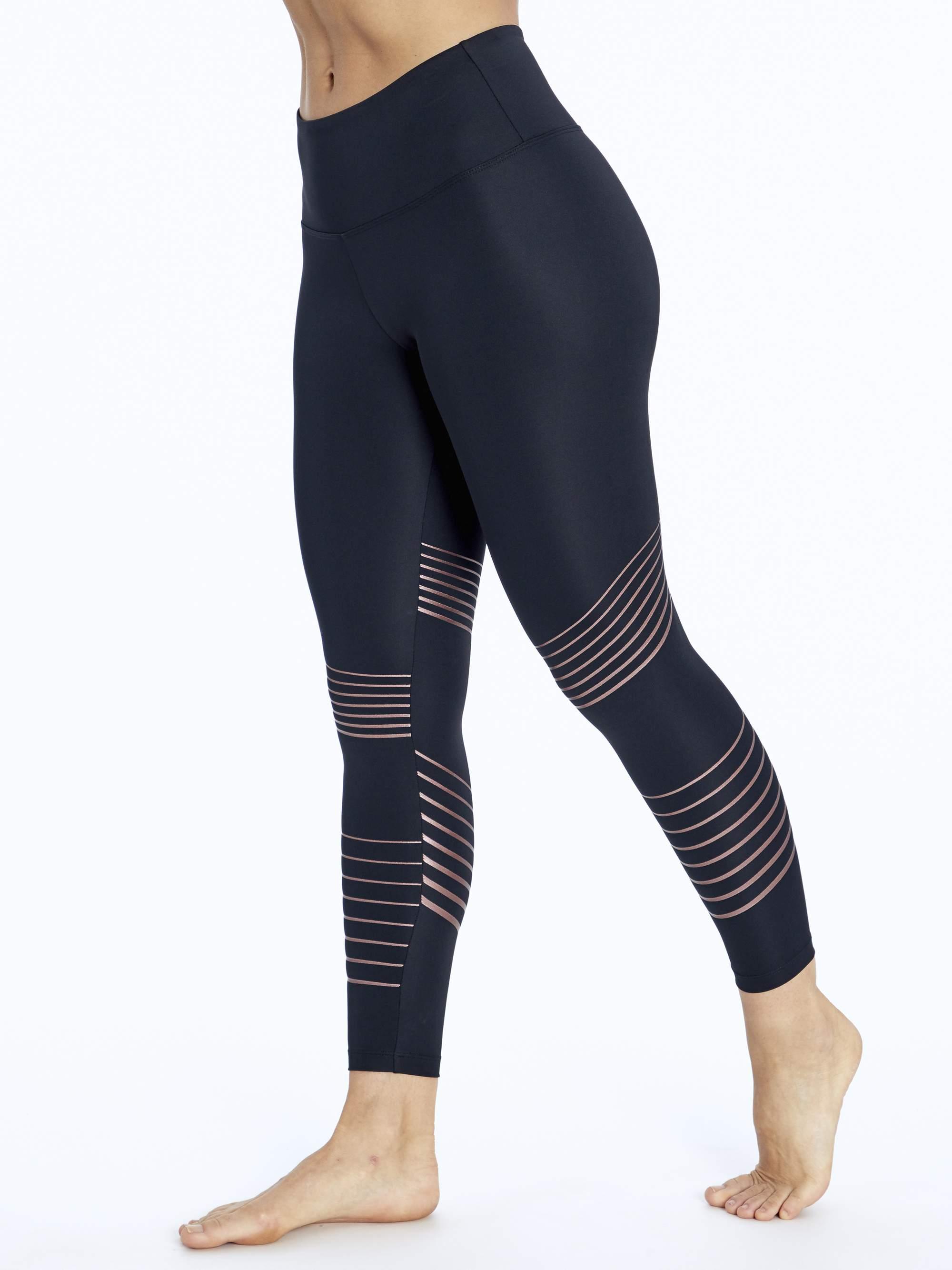 "Bally Women's Active Glitz Ankle Legging 25"""