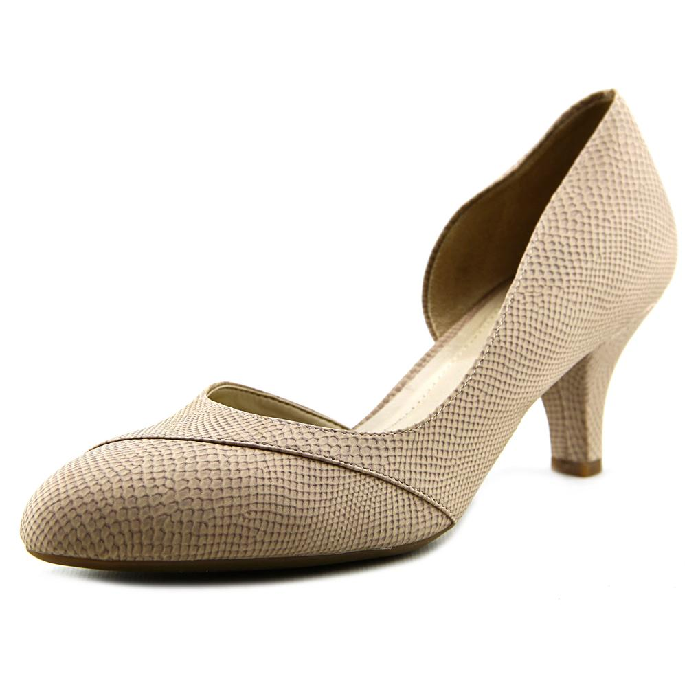 Click here to buy Naturalizer Deva Women Pointed Toe Synthetic Nude Heels by Naturalizer.