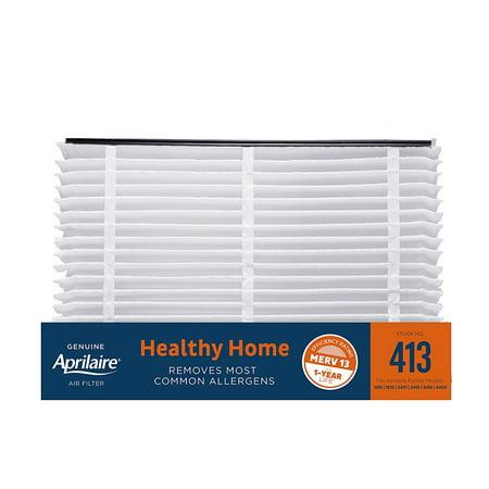 "aprilaire 413 (8-pack) - 16"" x 27"" x 6"" expandable air filter, merv ..."
