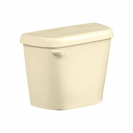 American Standard Colony 1.28 GPF Single Flush Toilet Tank Only in Bone 1 Piece Toilet Bone
