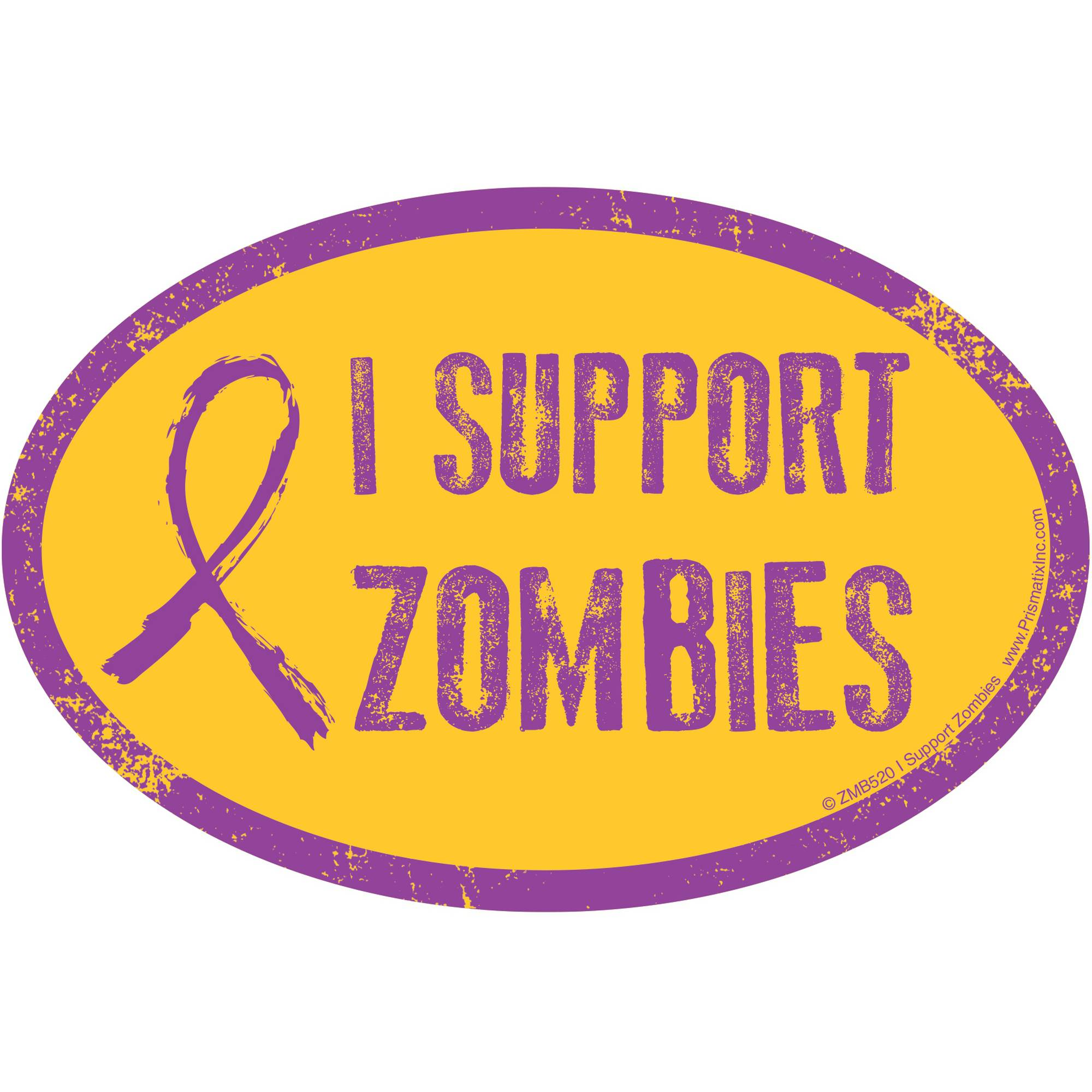 Prismatix I Support Zombies Magnet