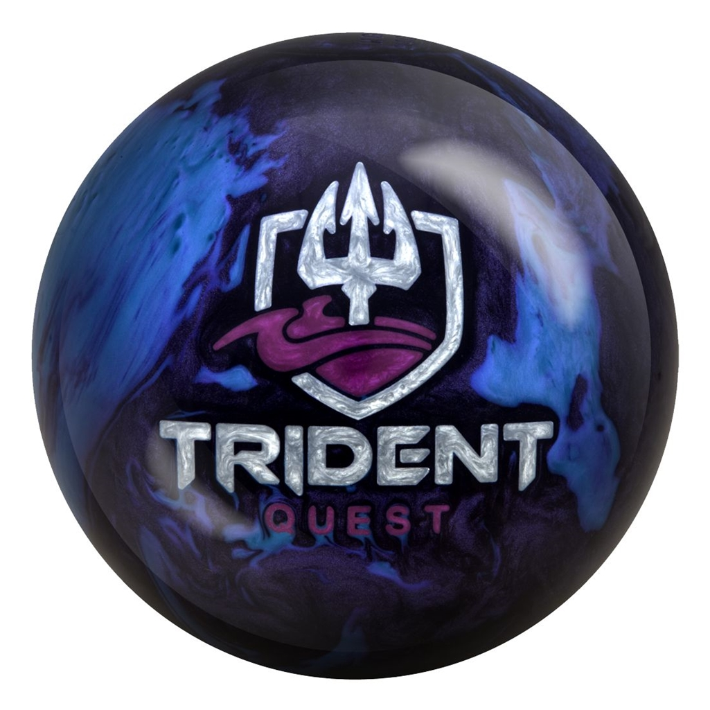 Motiv Trident Quest Bowling Ball (14lbs) by MOTIV Bowling Products