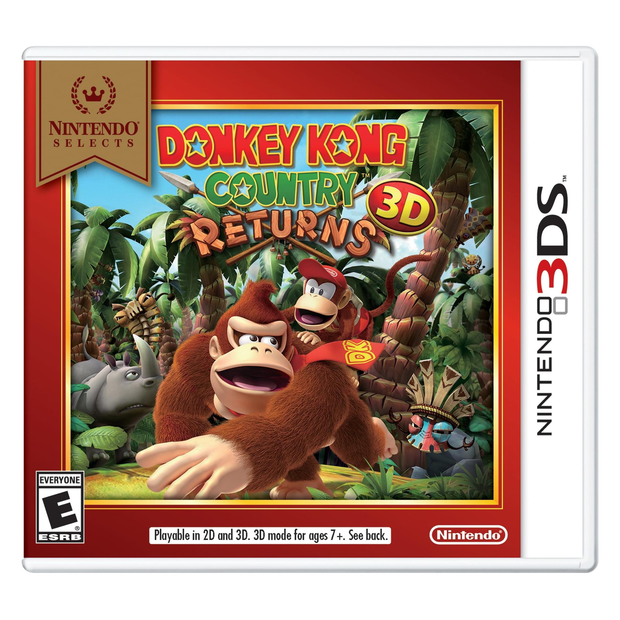 Donkey Kong Country Returns 3D (Nintendo Selects), Nintendo ...