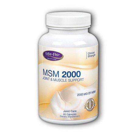 - MSM 2000 Life Flo Health Products 60 Caps