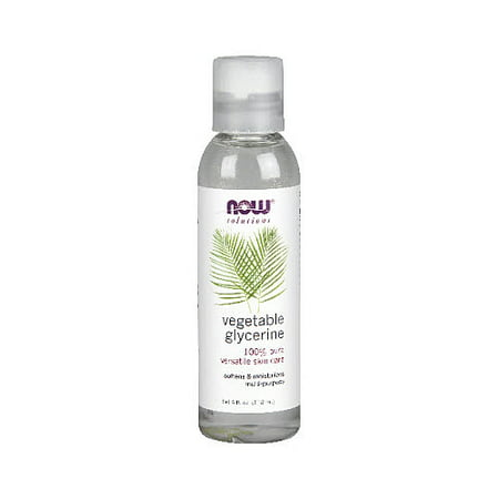 Now Solutions 100% Pure Vegetable Glycerine, 4 Fl (1 Ounce Glycerine)
