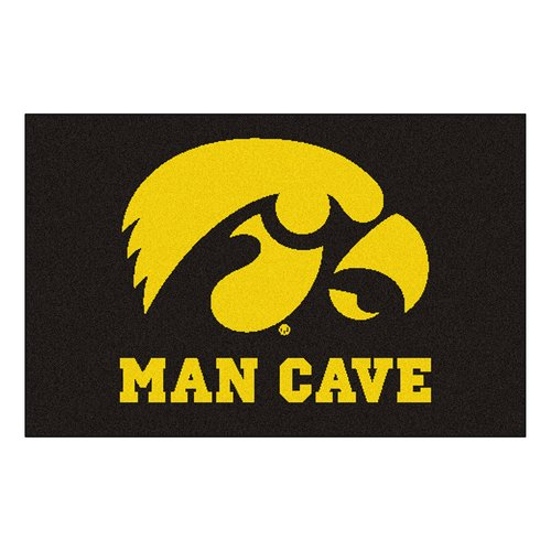FANMATS NCAA University of Iowa Man Cave Starter