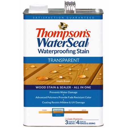 Thompsons WaterSeal Transparent Waterproofing Stain MAPLE BROWN