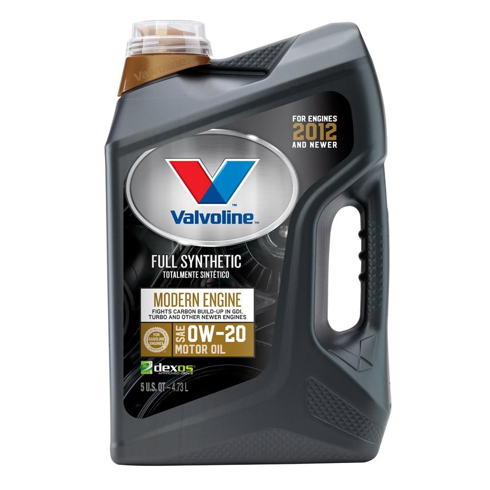 Valvoline™ Modern Engine SAE 0W-20 Full Synthetic Motor Oil - Easy Pour 5 Quart