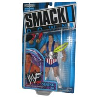 WWE Smackdown Series 5 Kurt Angle Tron Ready USA Outfit Figure
