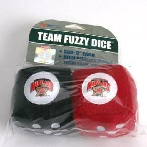 Maryland Terrapins Fuzzy Dice