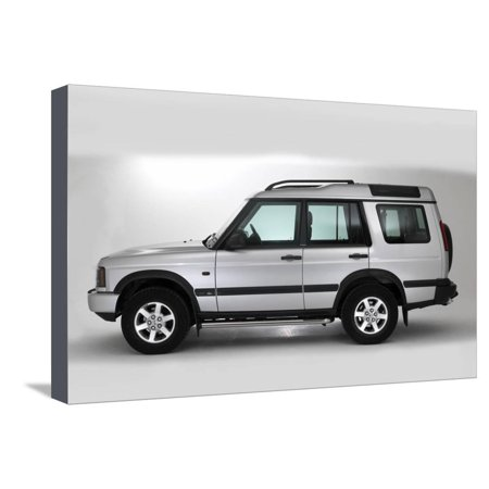 2003 Land Rover Discovery Stretched Canvas Print Wall