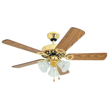 K 42in Bbrass Ceiling Fan