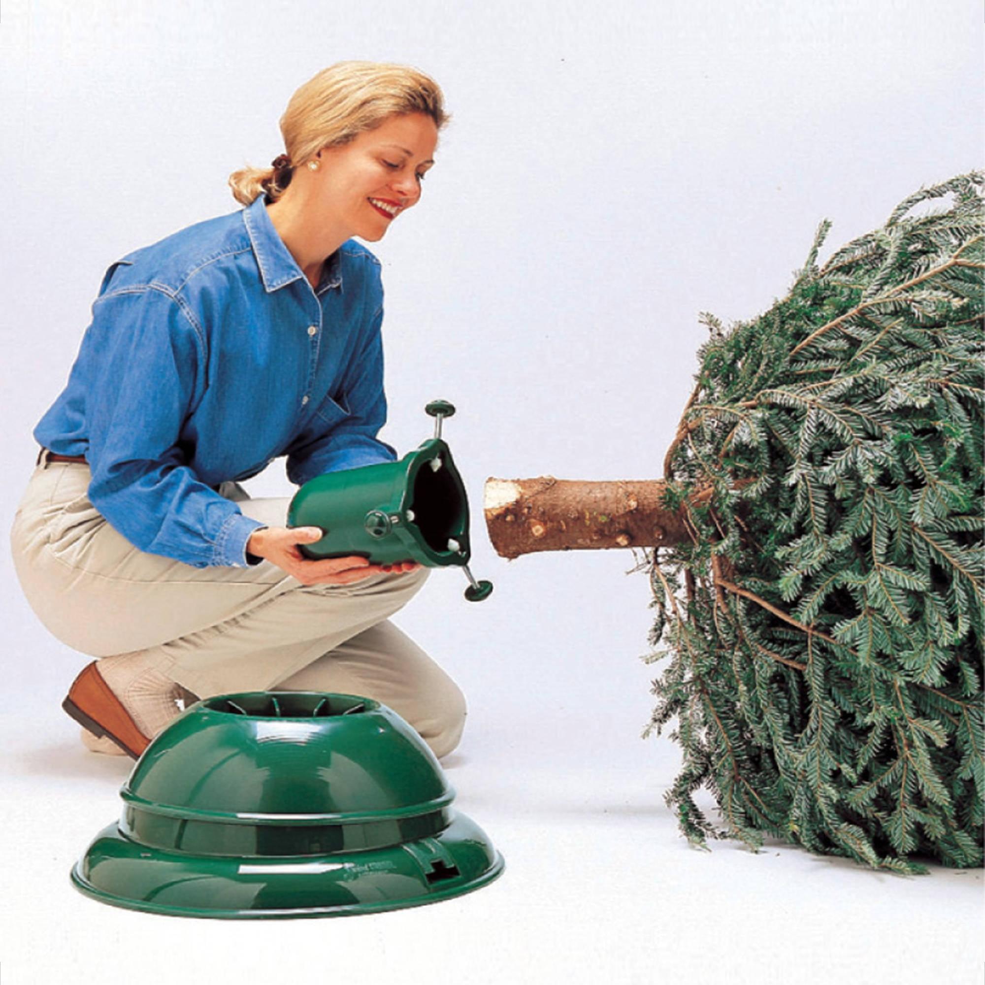St. Nicks Choice Swivel Straight Christmas Tree Stand - Walmart.com