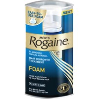 Mens Rogaine 5% Minoxidil Topical Foam Hair Regrowth Treatment - 2.11 Oz/Pack, 3 Pack