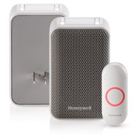 Honeywell Series 3: Plug-In Doorbell with Strobe Light and Push Button (RDWL313P2000/E)