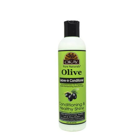 OKAY OKAY-OLIVELC8 8 oz Olive Leave in Conditioner Restoration & Smooth Hair