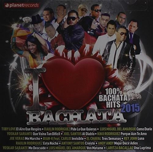 I Love Bachata 2015 (CD)