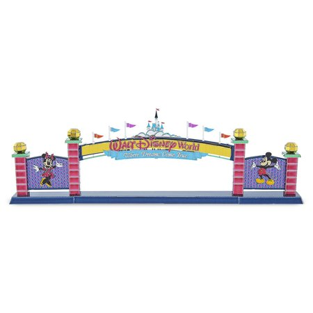 Disney Parks Walt Disney World Sign Metal Earth 3D Model Kit New Sealed - Architecture Model Kits