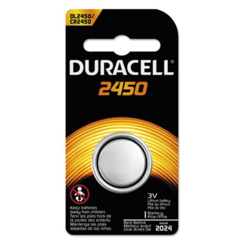 Duracell DL2450BPK Button Cell Lithium Battery, #2450, 36/pk