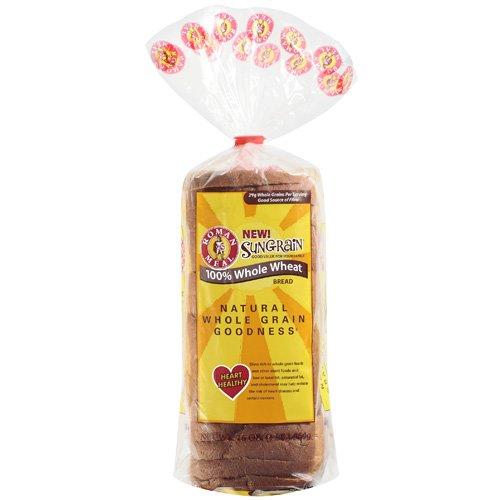 Roman Meal Sungrain 100% Whole Wheat Bread, 16 oz