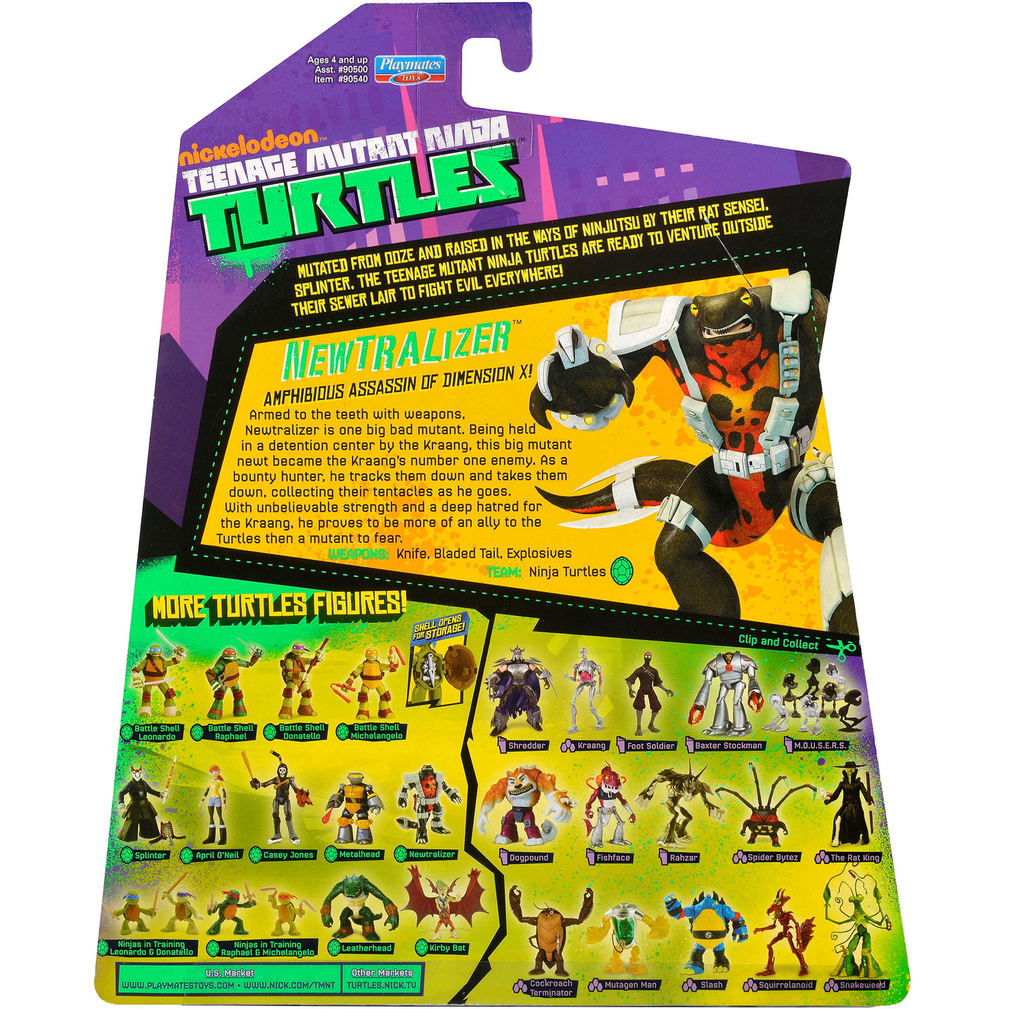 Teenage Mutant Ninja Turtles Newtralizer Action Figure